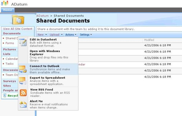 Share Point Shared Document