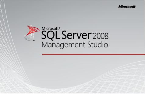 SQL Server 2008 Management Studio Splash Screen