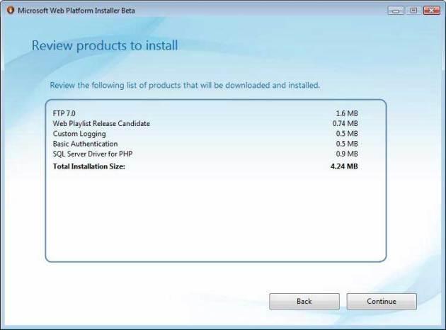 مر�له دوم - تایید گزینه های انتخابی برای نصب