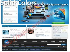 Solid Colors In Web Design